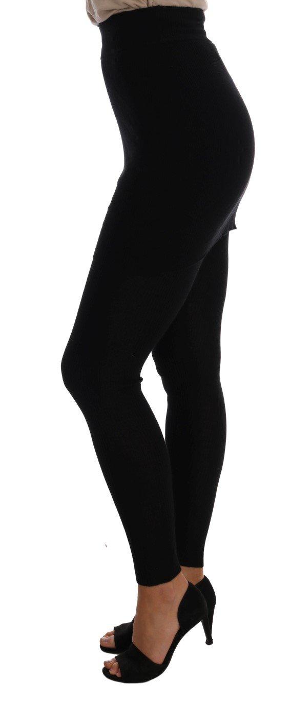 Dolce & Gabbana Women's Tights Black SCS209 - IT36   XS