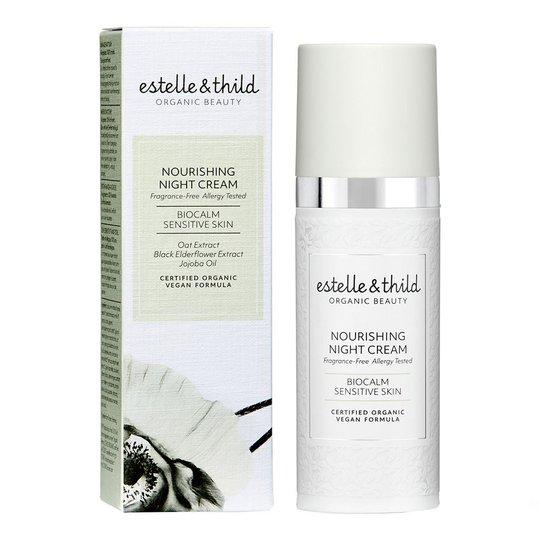 Estelle & Thild Biocalm Extra Nourishing Night Cream, 50 ml estelle & thild Luonnonkosmetiikka