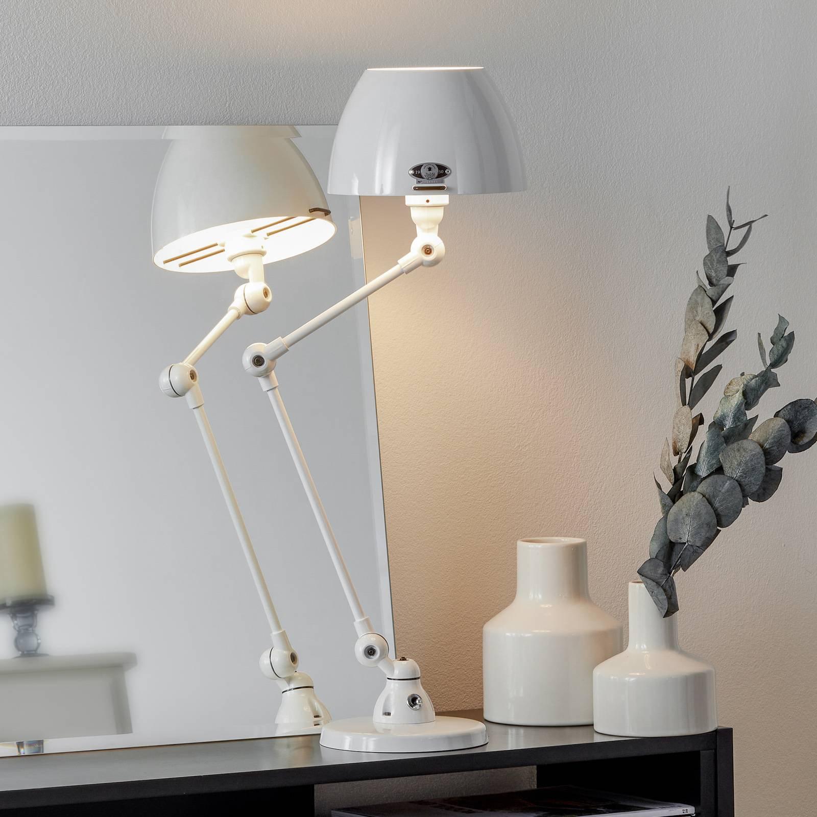 Jieldé Aicler AIC373 bordlampe, hvit