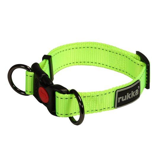 Rukka Bliss Neon Halsband Gul (20-30 cm)
