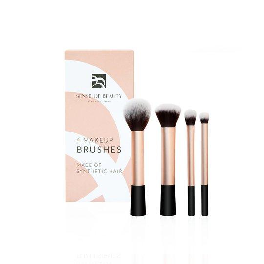 4 Makeup Brushes, Sense Of Beauty Siveltimet