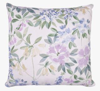 Florals koristetyyny moniväri/sininen