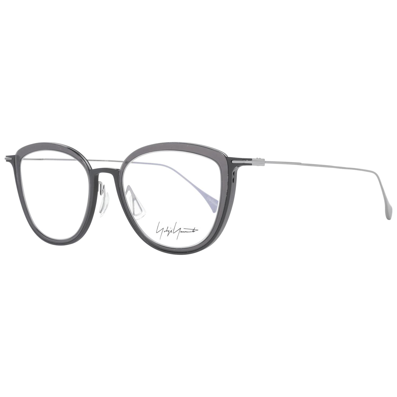 Yohji Yamamoto Women's Optical Frames Eyewear Black YY1041 49009