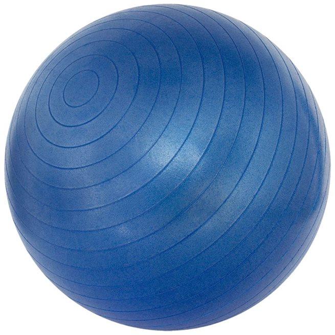vidaXL Fitnessboll blå