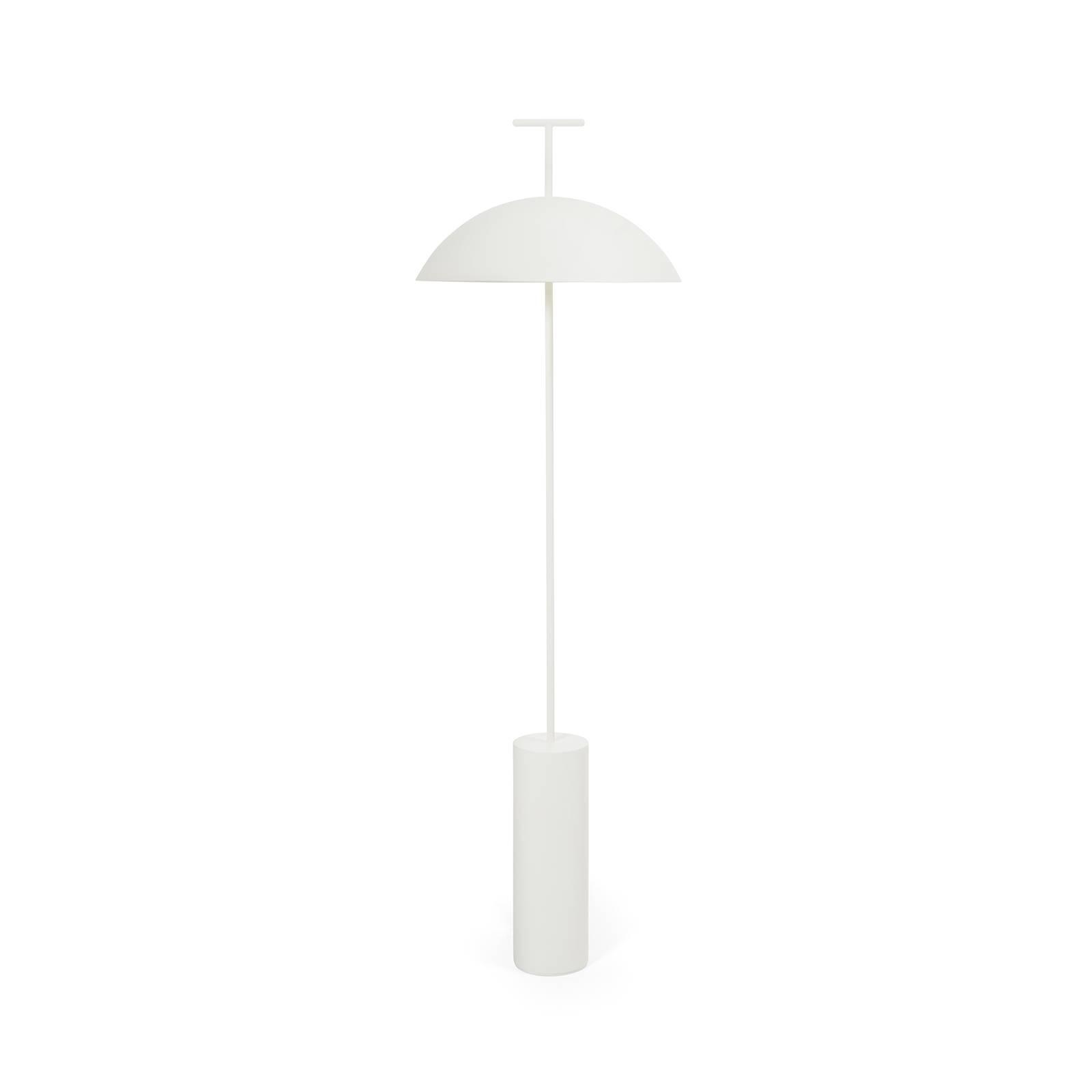 Kartell Geen-A -LED-lattiavalo, valkoinen