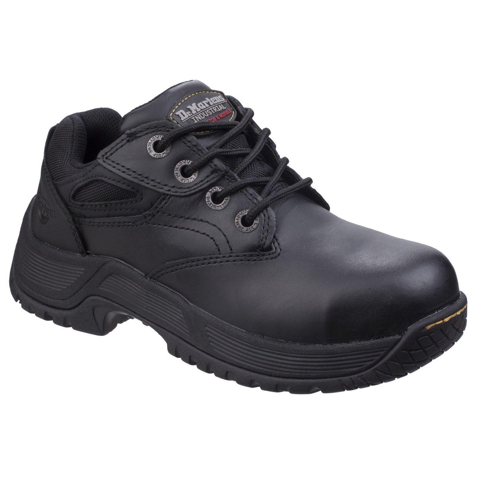 Dr Martens Unisex Calvert Steel Toe Safety Trainer Black 26022 - Black 10