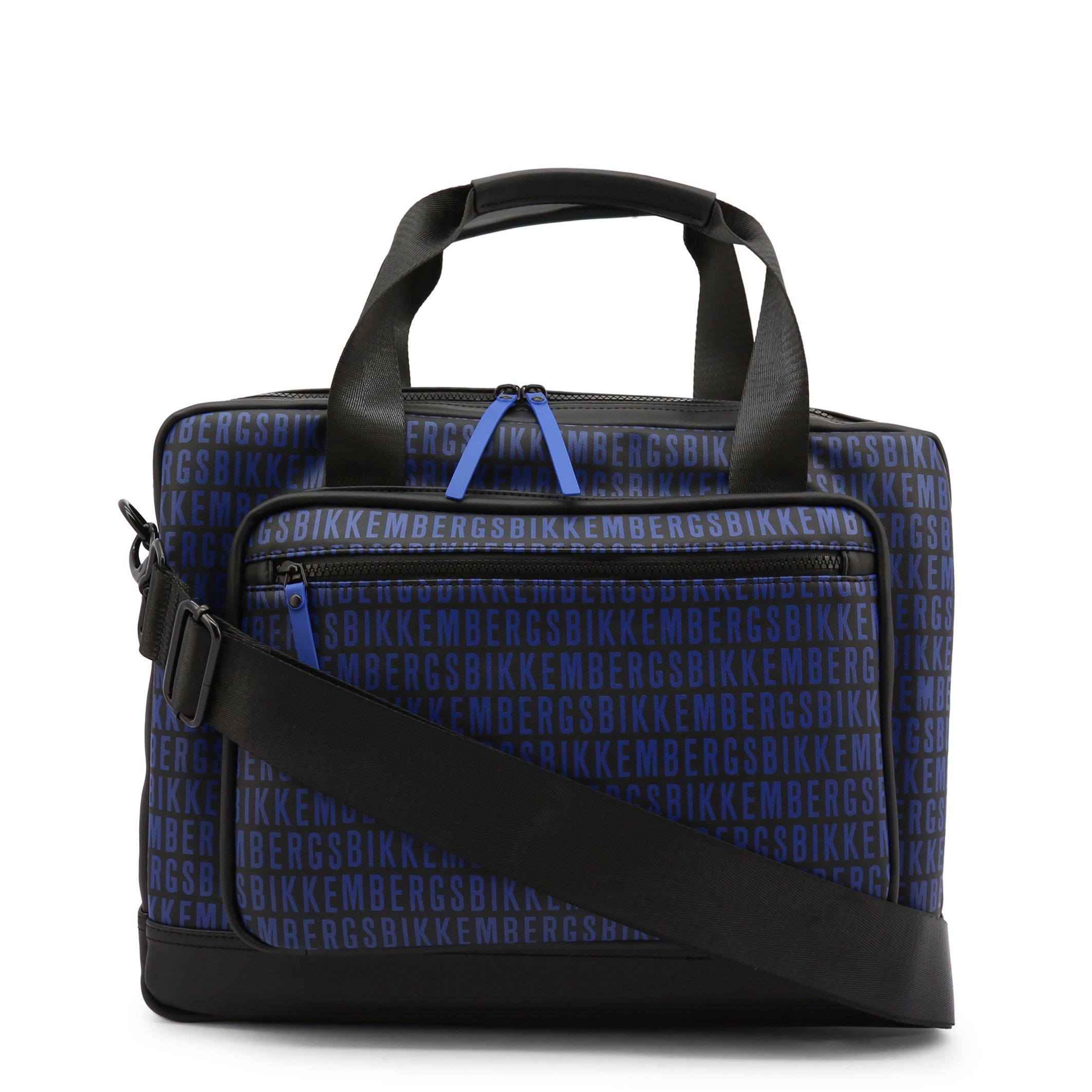 Bikkembergs Men's Briefcase Black E2APME81005C - black-2 NOSIZE