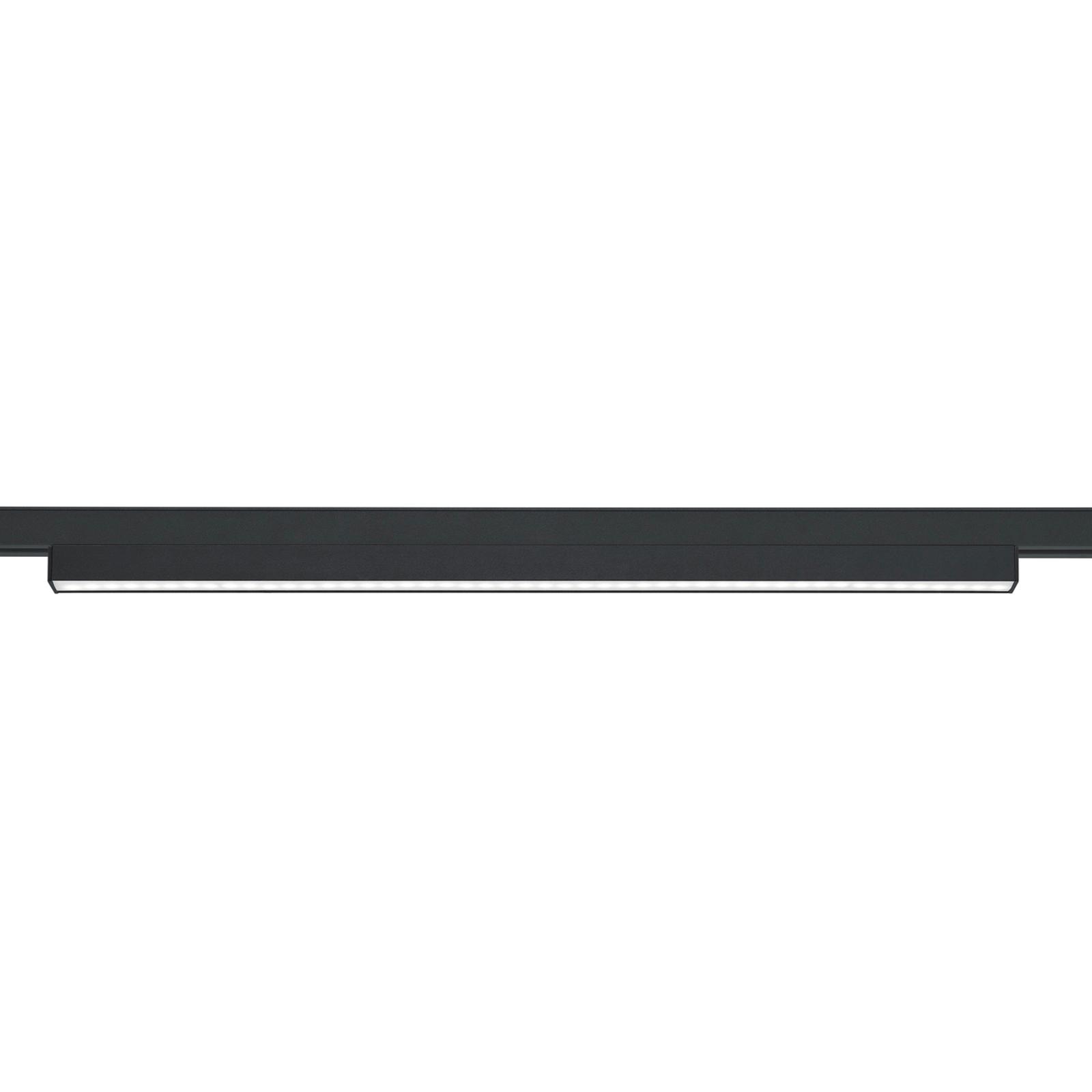 LED-valolista DUOline-kiskojärjestelmään, musta