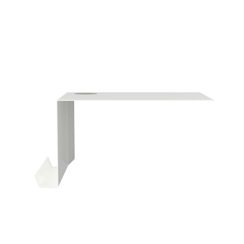 Nichba - Shelve02 With Filt Left - White (400108WL)
