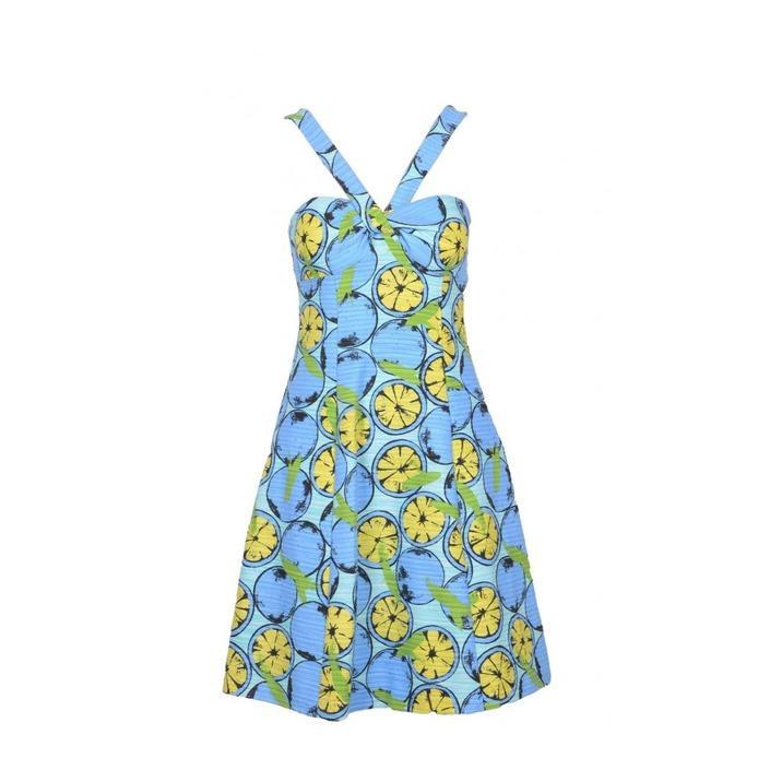 Boutique Moschino Women's Dress Blue 171622 - blue 40