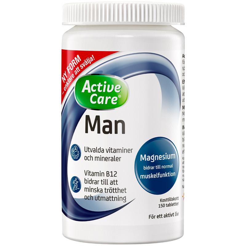 Kosttillskott Man - 30% rabatt