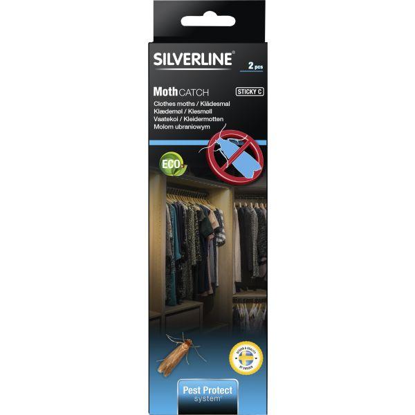 Silverline MotMal Limfelle 2-pakning
