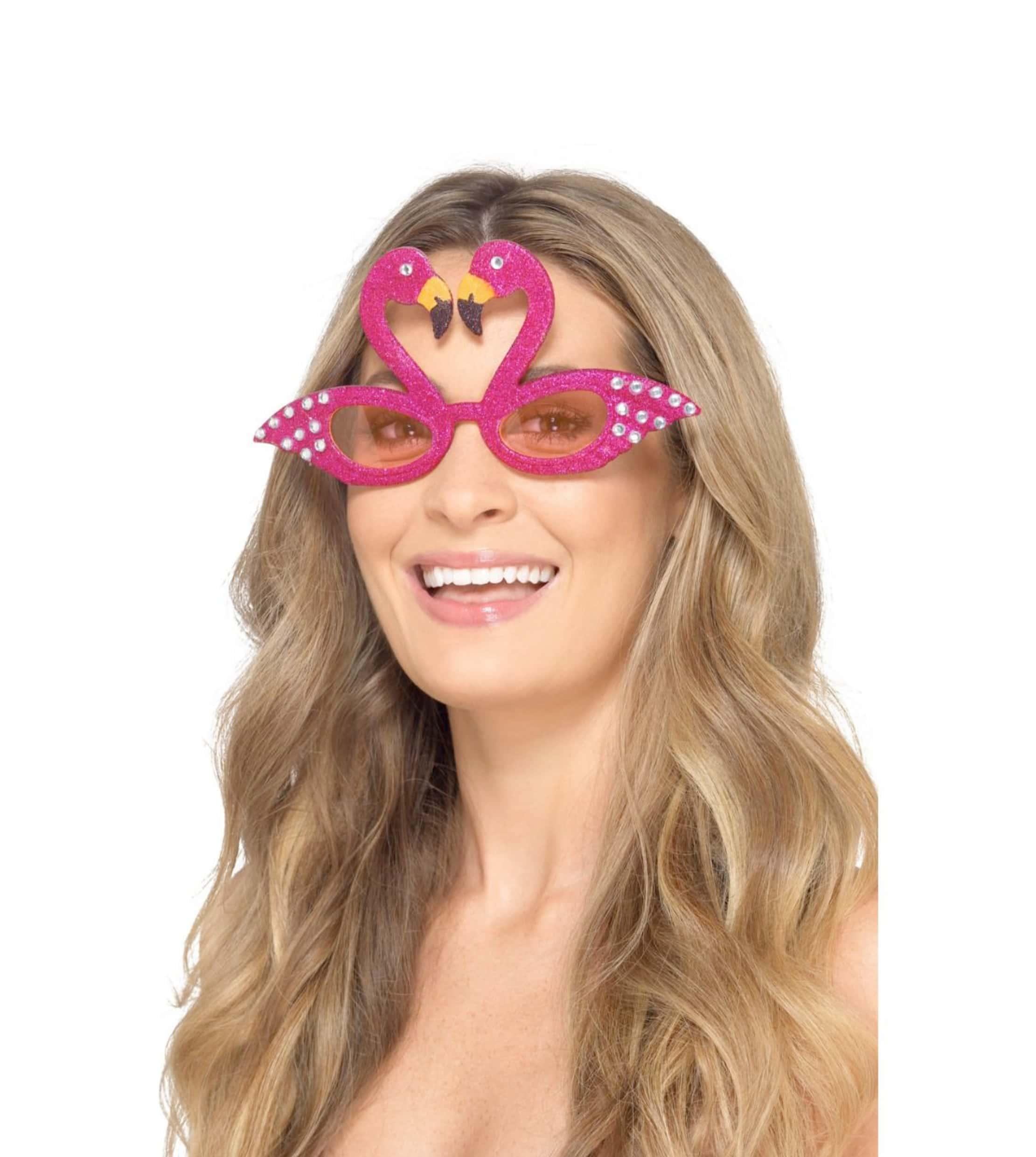 Flamingo glasögon