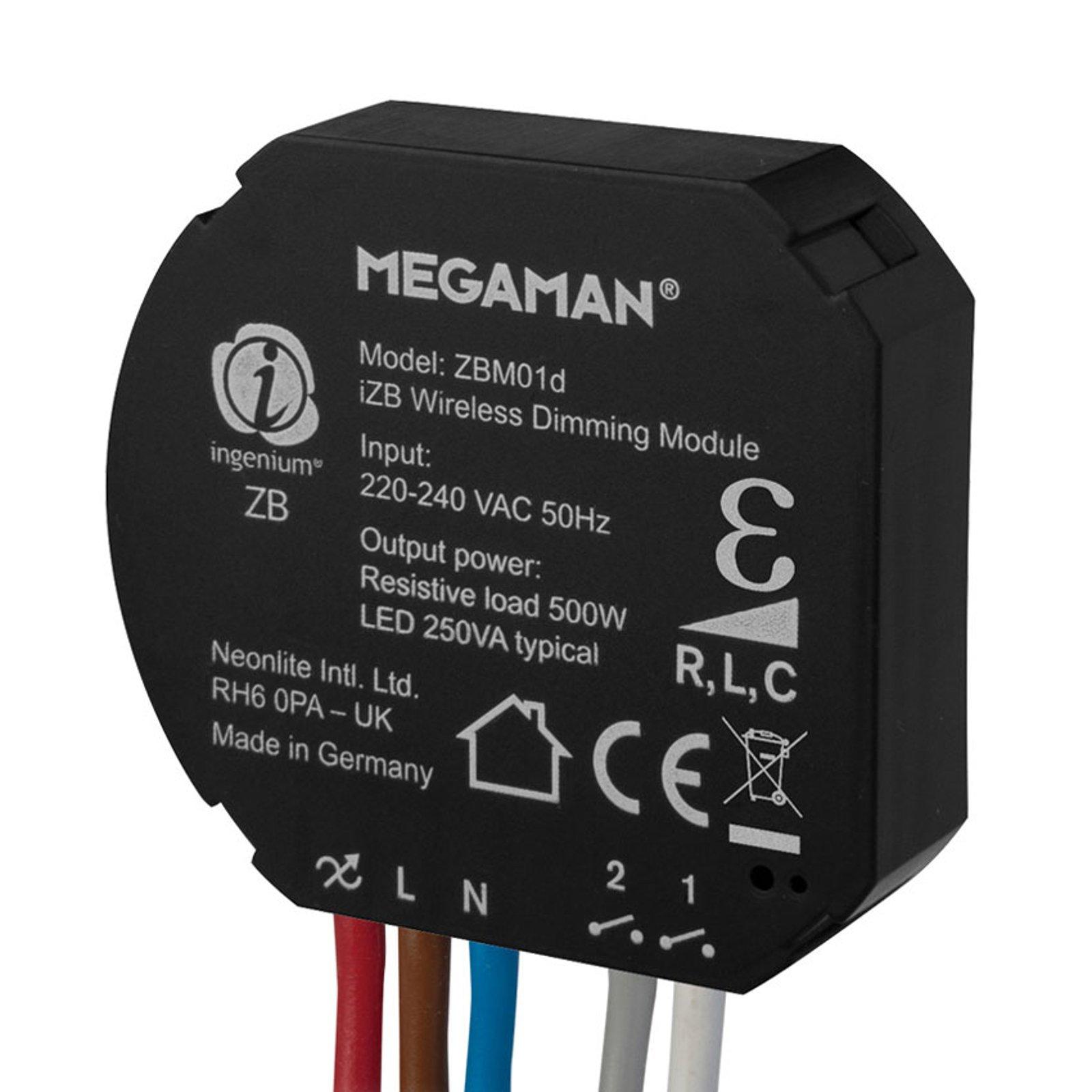 Megaman ingenium®ZB dimme-modul 250W, R,L,C