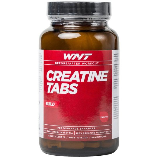 "Ravintolisä ""Creatine Tabs"" 120-pack - 36% alennus"