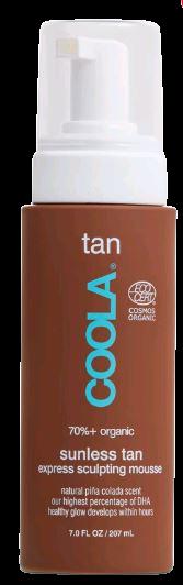 Coola - Sunless Tan Express Sculpting Mousse - 207 ml