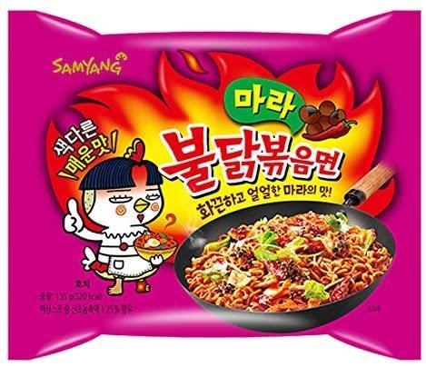 Samyang Hot Chicken Mala Sichuan Noodles 140g