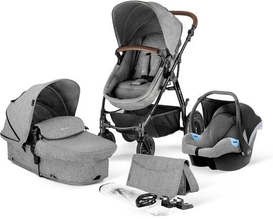 Kinderkraft MOOV 3-i-1 Travelsystem, Grey