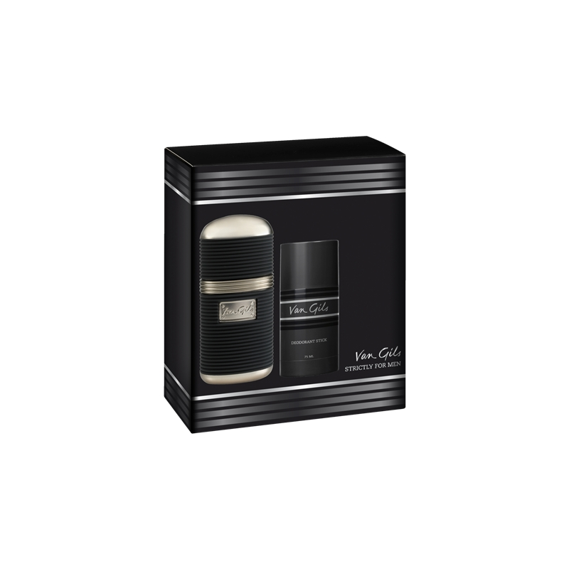 Van Gils - Strictly for Men EDT 50 ml + Deo Stick - Giftset