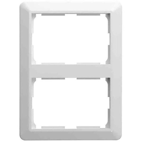 Elko EKO09102 Kombinasjonsramme 2 rom, for 2-veisuttak, stående