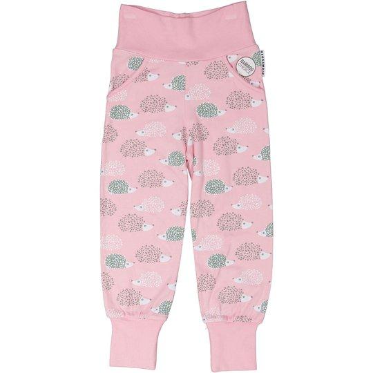Geggamoja Bamboo Bukse, Pink Hedgehog, 50-56