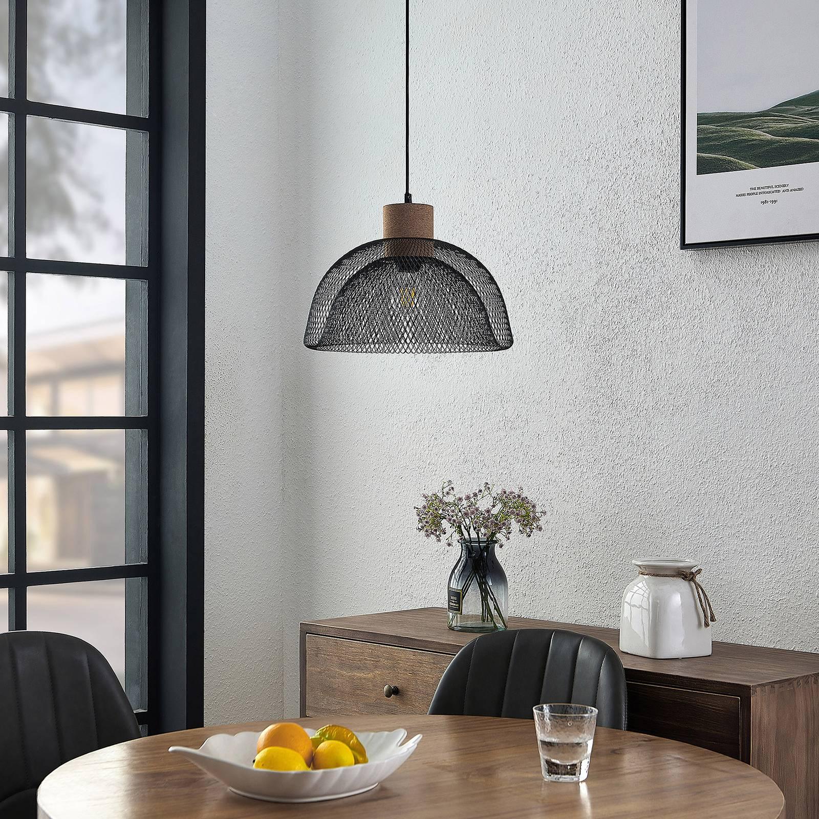 Lindby Louk -riippuvalo, säleikkö, 1-lamppuinen