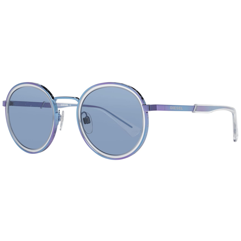 Diesel Unisex Sunglasses Blue DL0321 4992V