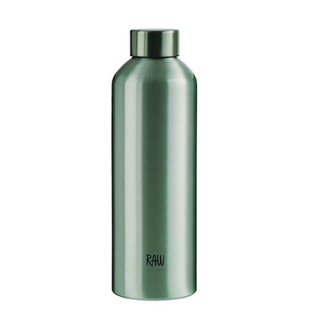 Raw To Go Flaska Aluminium Green 0,75 L