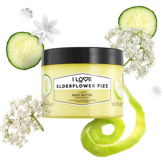 Elderflower Fizz, 300 ml I love… Vartaloemulsiot