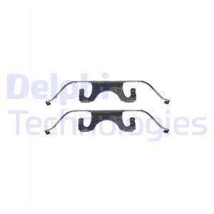 Tarvikesarja, jarrupala DELPHI LX0332