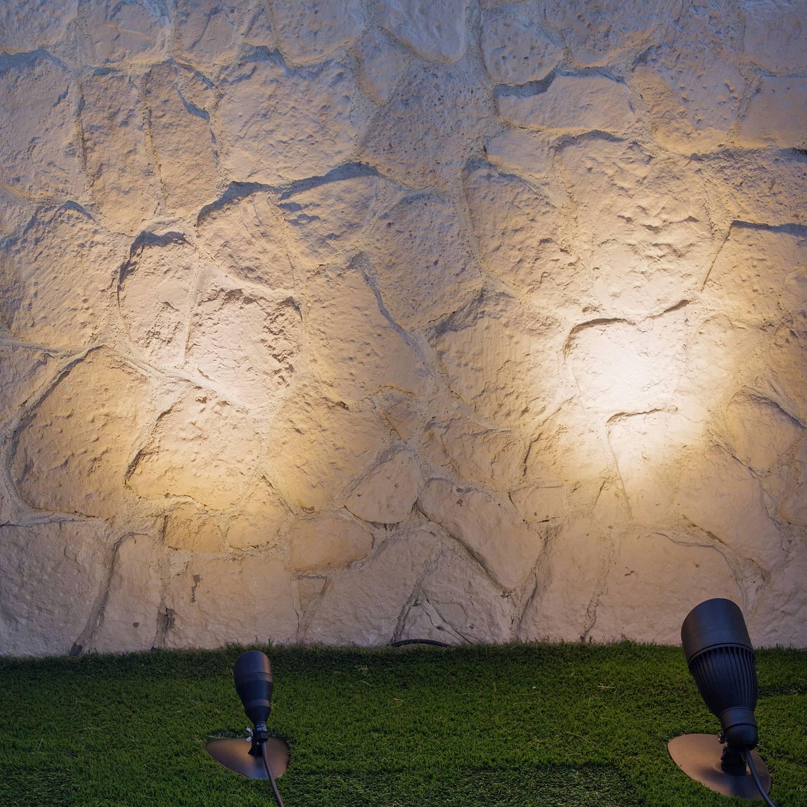 HEISSNER SMART LIGHTS -LED-spotti, musta 4W