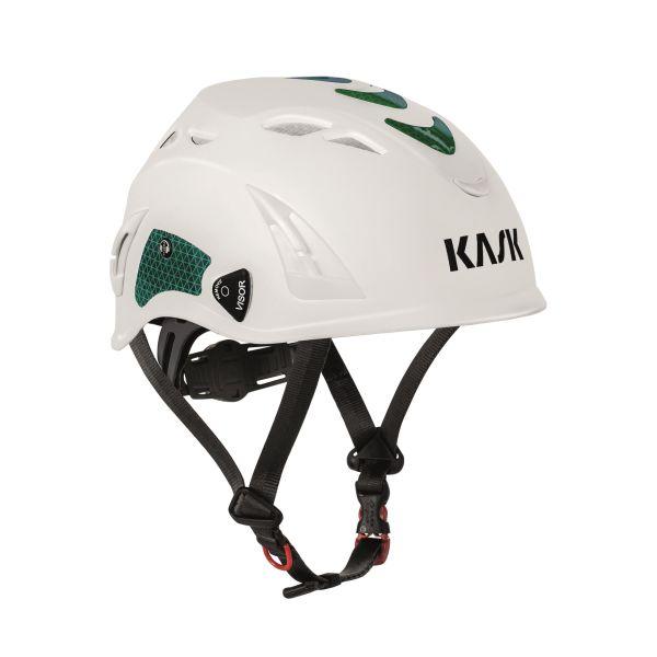 KASK WAC00001.060 Refleks-sett til hjelm PLASMA HI VIZ Grønn