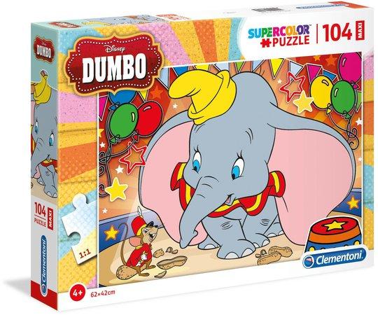 Clementoni Dumbo Puslespill 104 Brikker