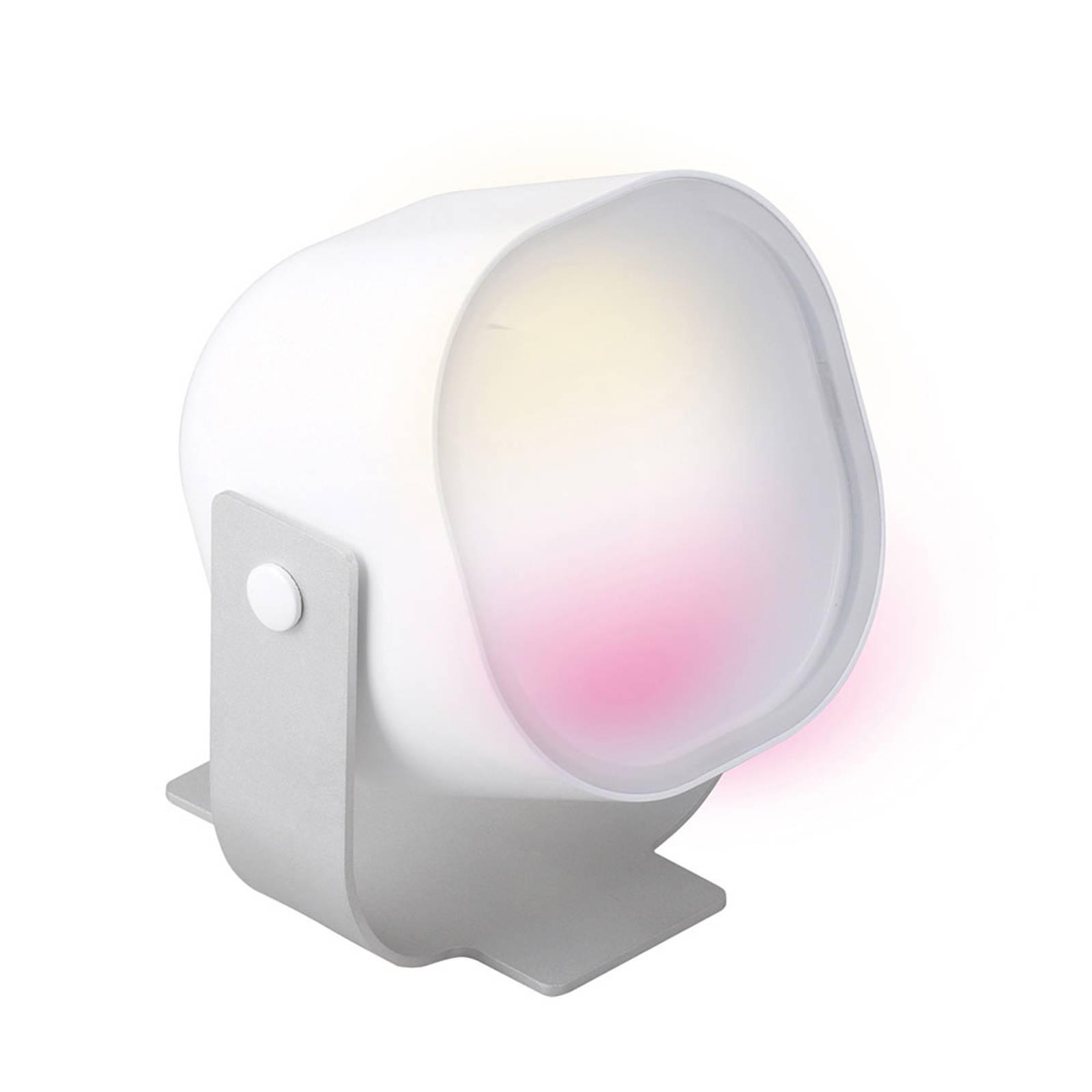 iDual Lilas -LED-pöytälamppu kaukosäätimellä