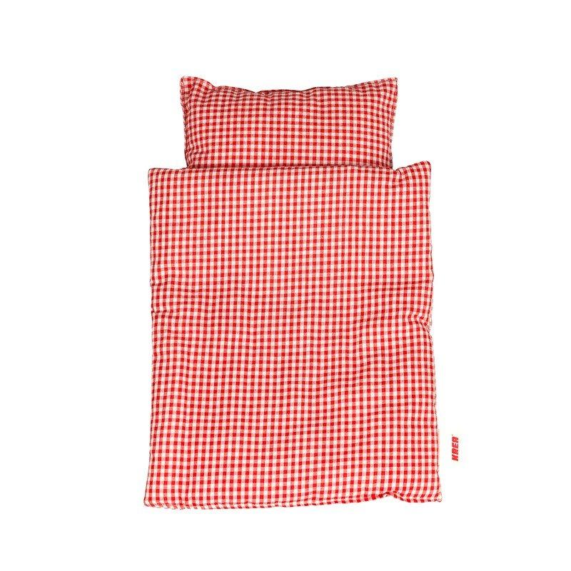 KREA - Dolls bedding, red (2026)