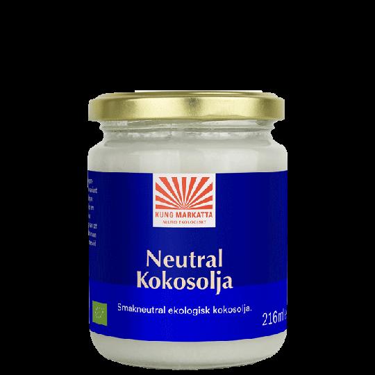 Neutral kokosolja EKO, 216 ml