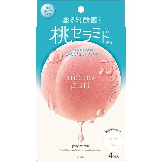 Momopuri Jelly Mask, BCL Kasvonaamiot