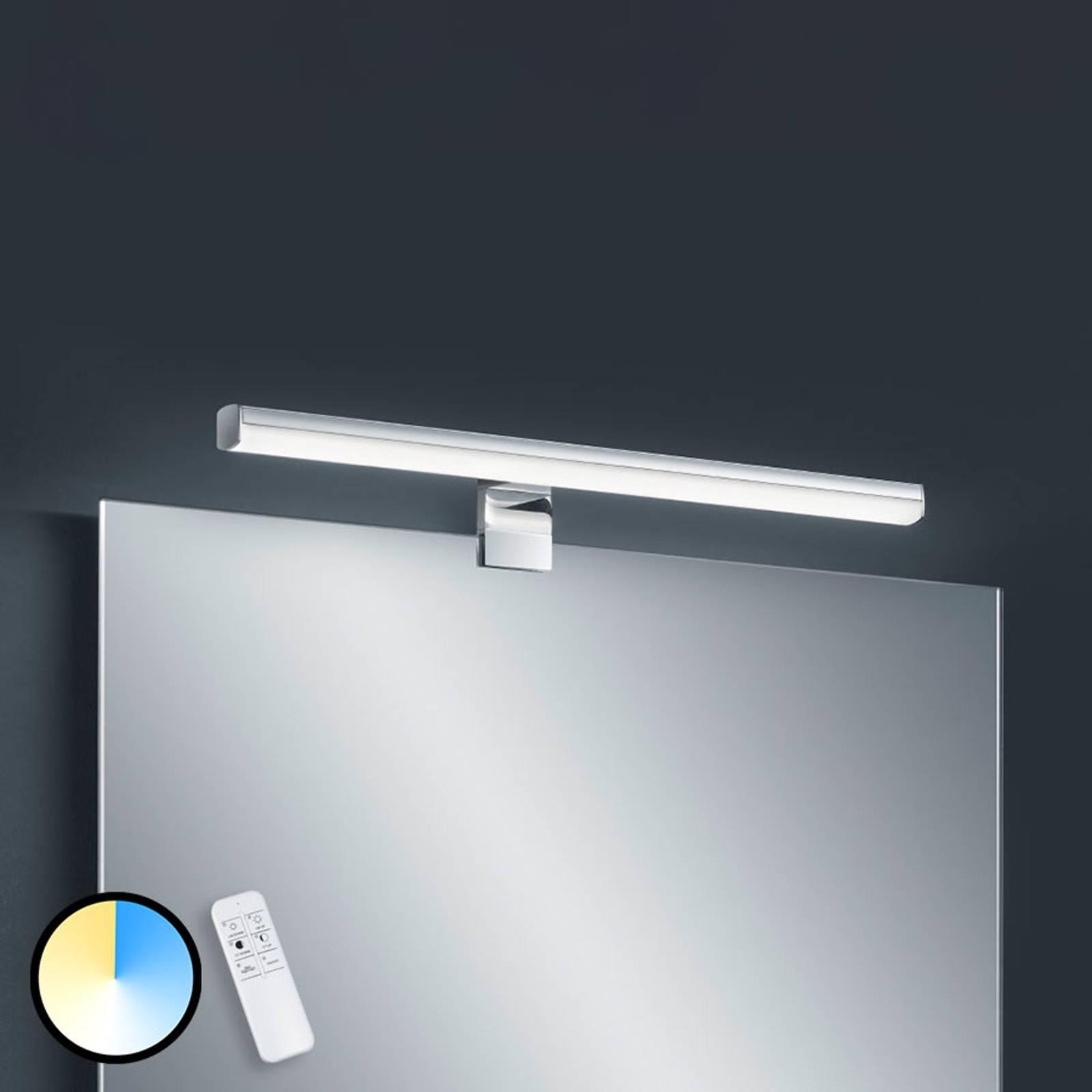 Helestra Gaia LED-peililamppu kaukosäädin 49 cm