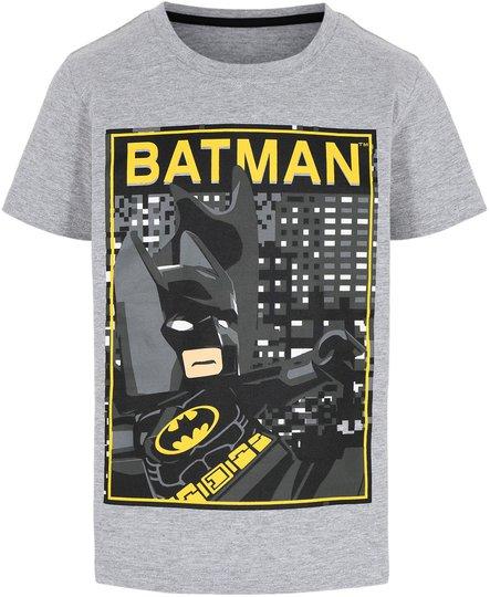 LEGO Collection T-shirt, Grey Melange, 110