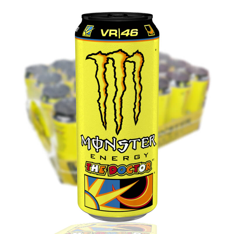MONSTER VR/46 THE DOCTOR 50 CL (GUL) - 2