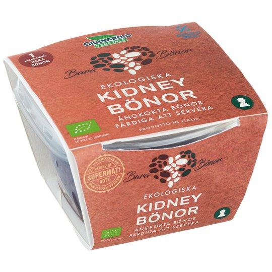 Eko Kidneybönor Ångkokta 125g - 33% rabatt