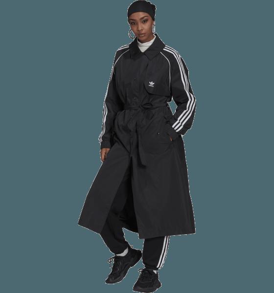 Adidas Originals W Trench Coat Jackor BLACK