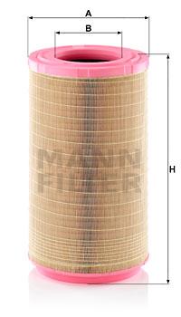 Ilmansuodatin MANN-FILTER C 31 1495