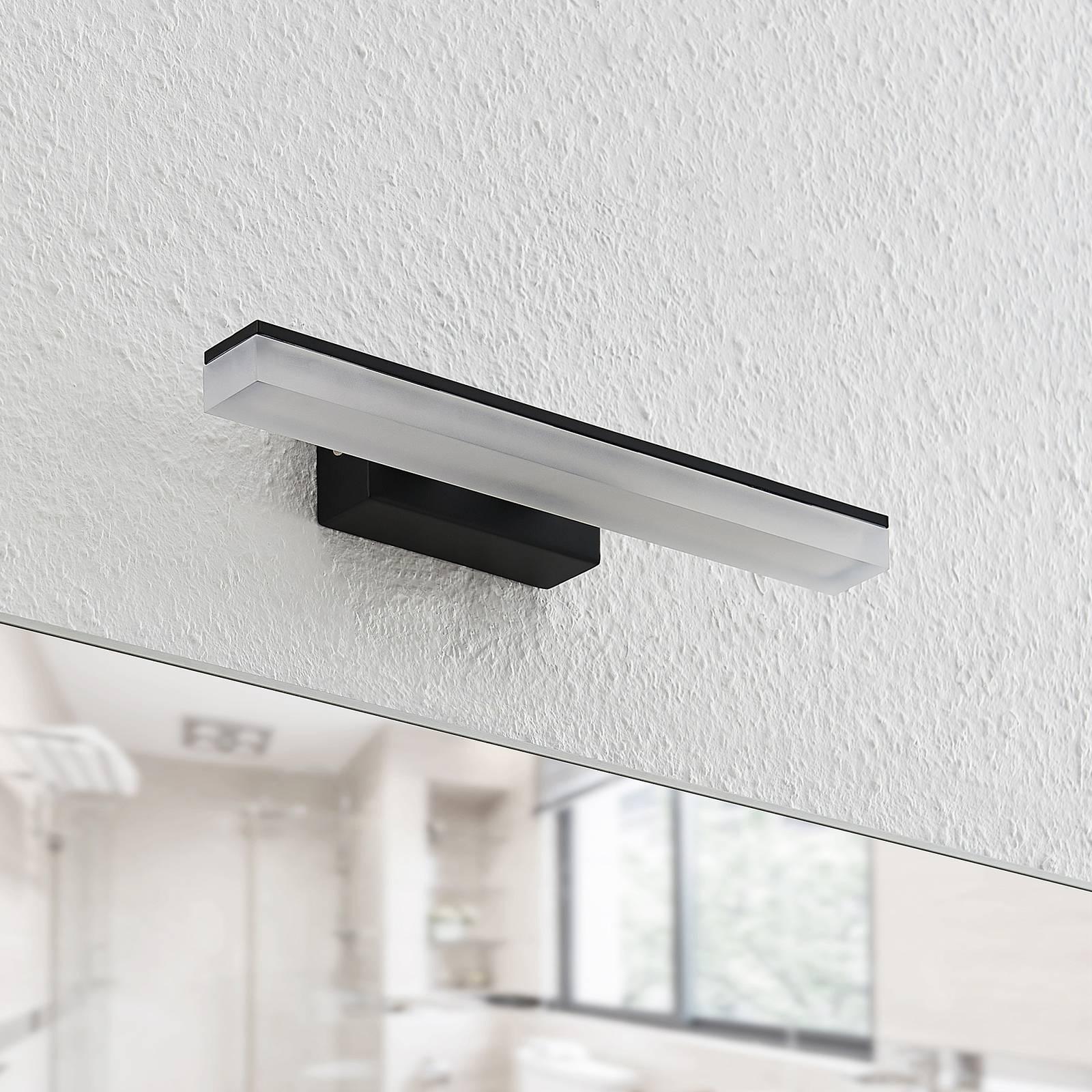 Lucande Lisana -LED-seinävalaisin, IP44, 32 cm