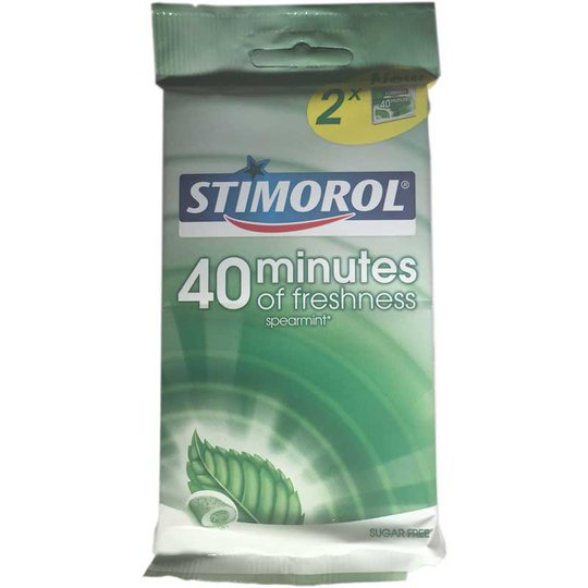 Stimorol 40 minutes Spearmint 2-Pack - 76% rabatt