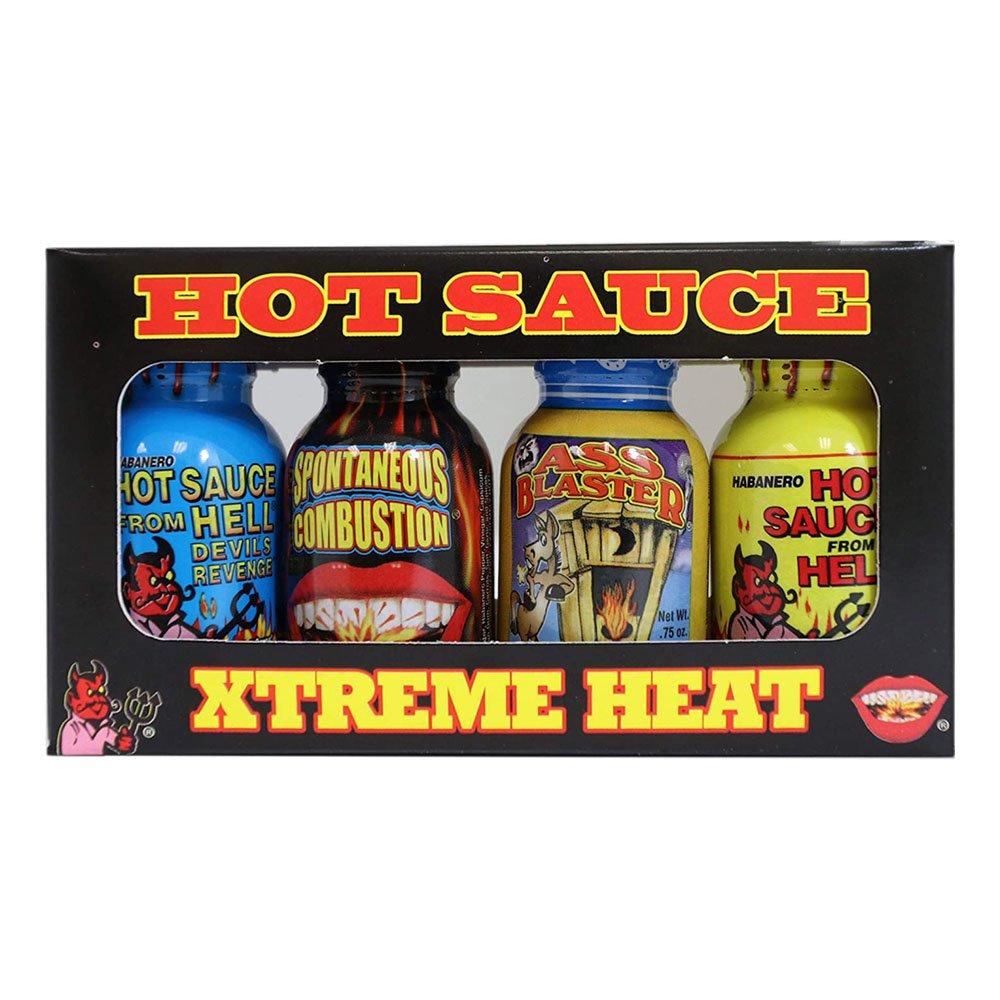 Xtreme Heat Hot Sauces Shots - 4-pack