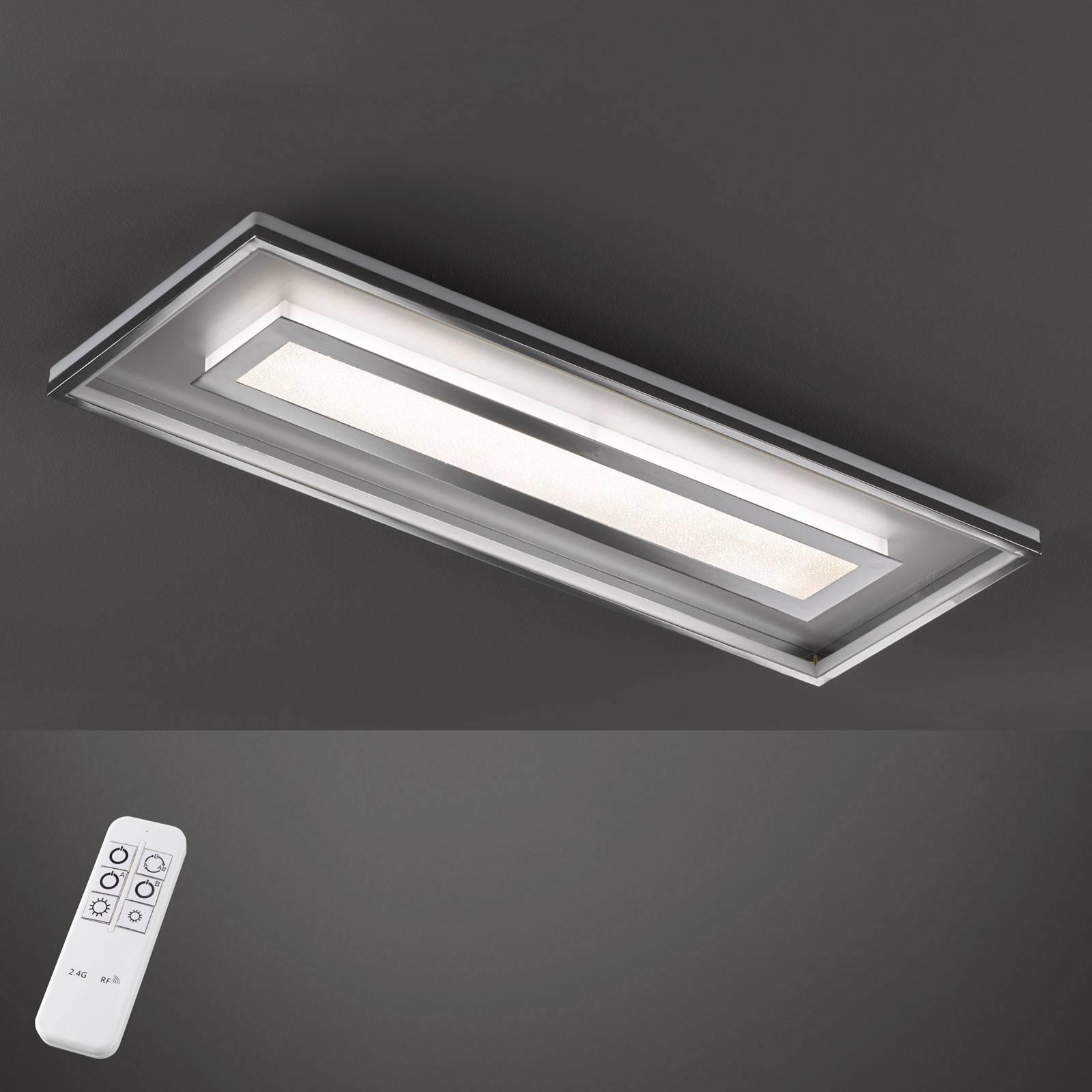 LED-kattovalaisin Bug, suorakulmainen 120 x 40 cm