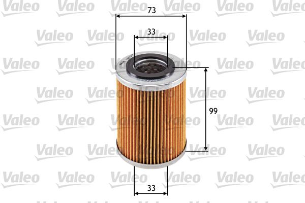 Öljynsuodatin VALEO 586572
