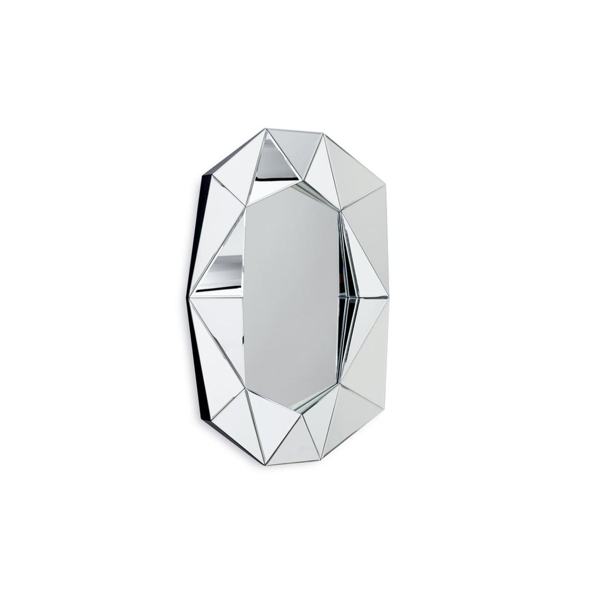 Reflections Copenhagen I Diamond Mirror Large