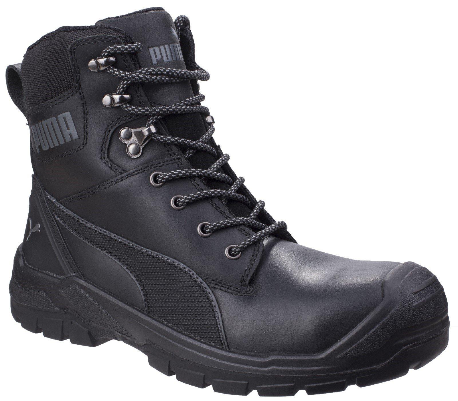 Puma Safety Unisex Conquest 630730 High Boot Black 27285 - Black 6.5